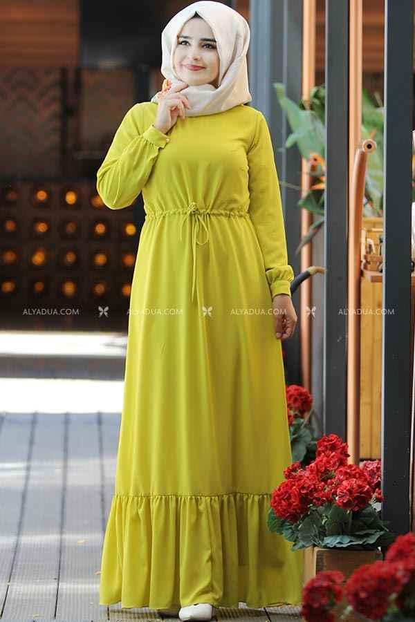 Alyadua En Güzel Tesettür Elbise Modelleri