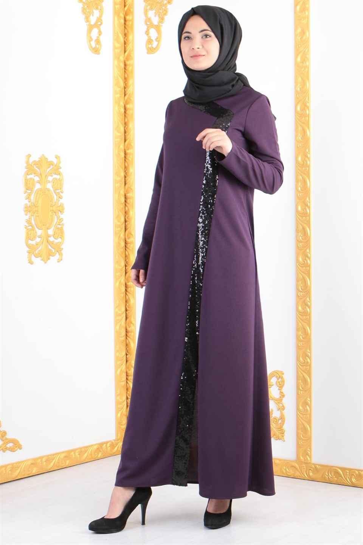 Bahye Zen Tesettür Abaya Ferace Elbise Modelleri