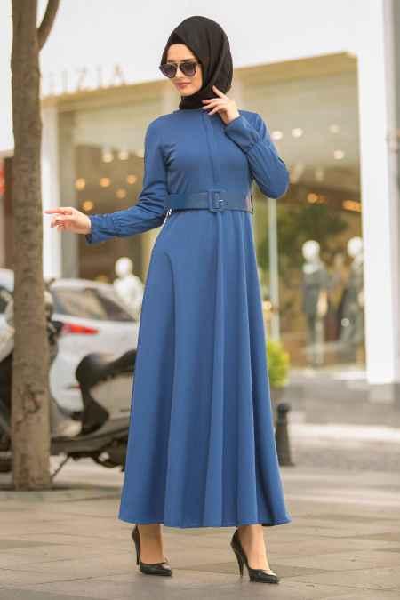 En Güzel Nayla Collection Tesettür Elbise Modelleri