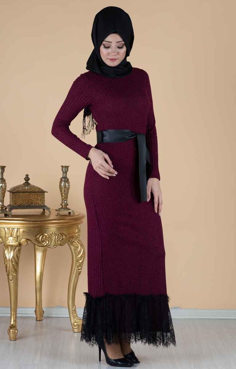 En Güzel Tesettür Pazarı Elbise Modelleri