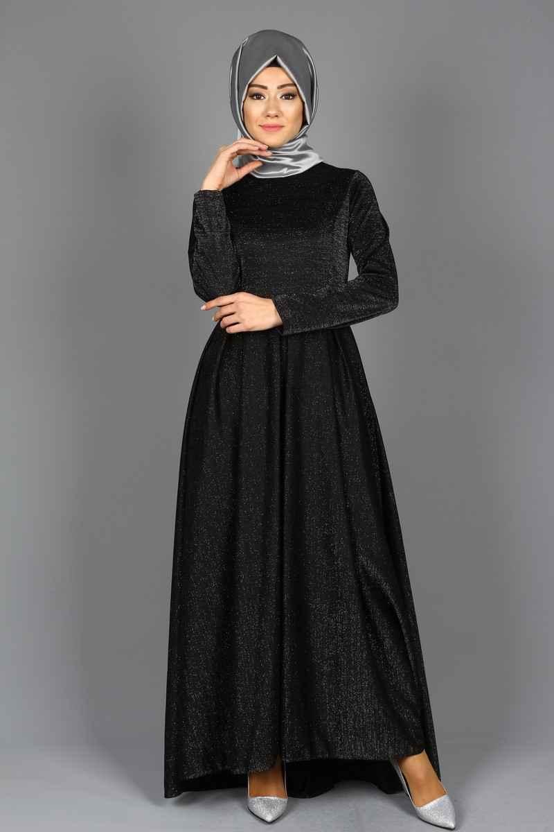 Eymina Simli Tesettür Elbise Modelleri