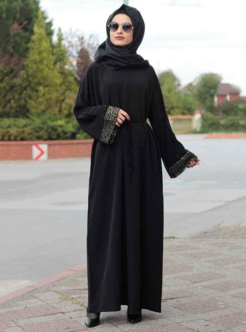 Gabra Tesettür Ferace Elbise Modelleri