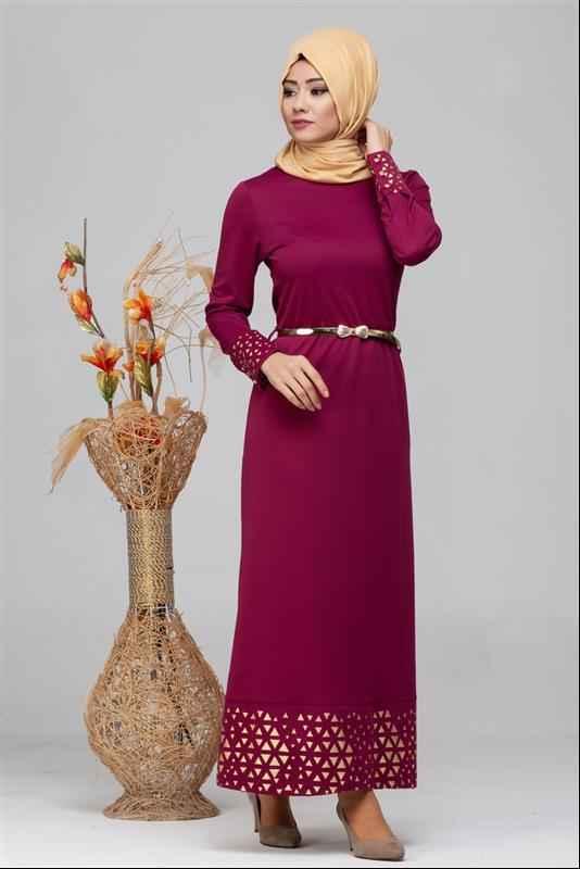 Mod Ebva En Güzel Tesettür Elbise Modelleri