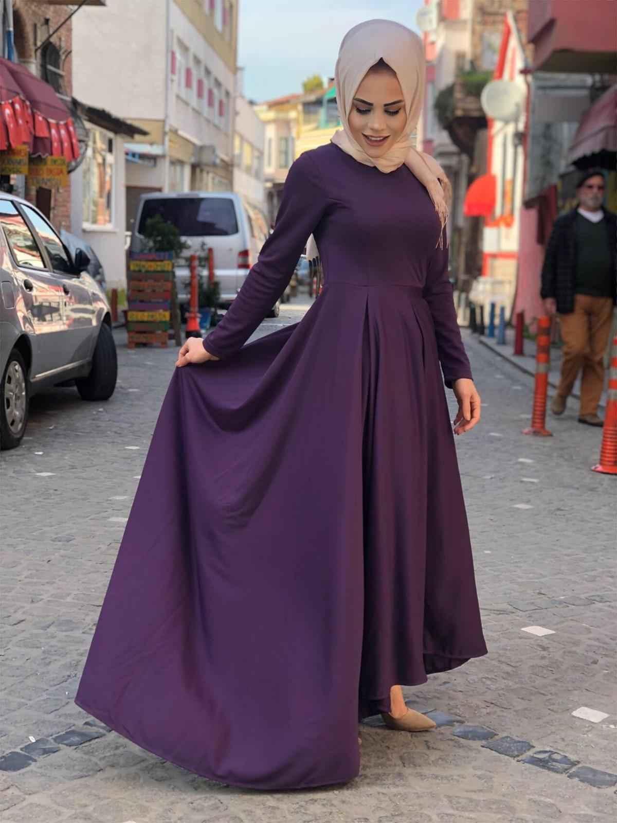 ModaOnur En Güzel Tesettür Elbise Modelleri