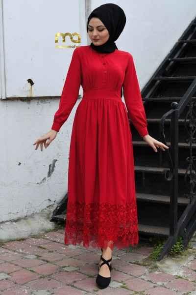 ModamAfra En Güzel Tesettür Elbise Modelleri