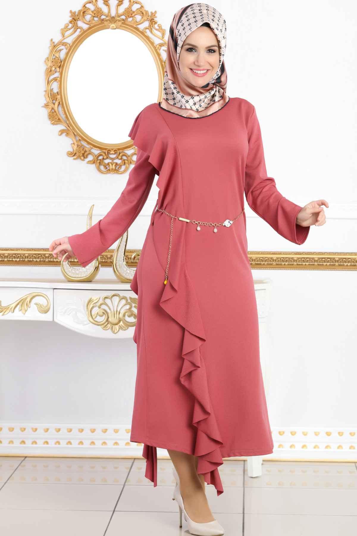 Modanoiva En Güzel Tesettür Elbise Modelleri