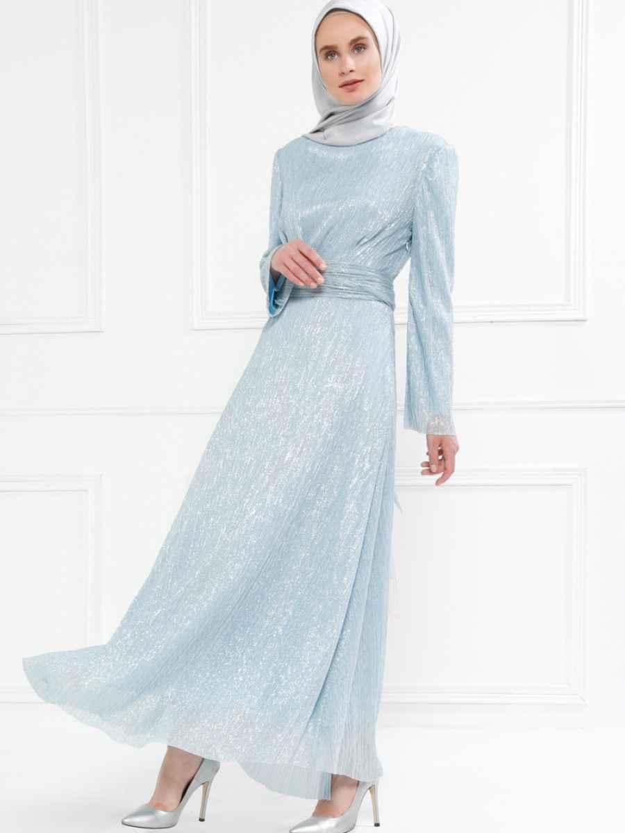 Refka Simli Tesettür Elbise Modelleri