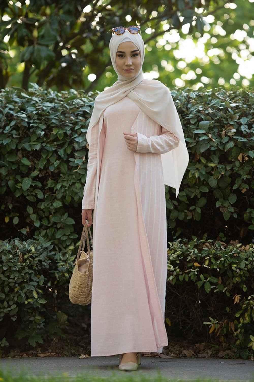 Sefamerve En Özel Elbiseli Tesettür Takım Modelleri