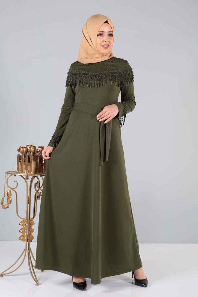 Tesettür Dünyası En Güzel Elbise Modelleri