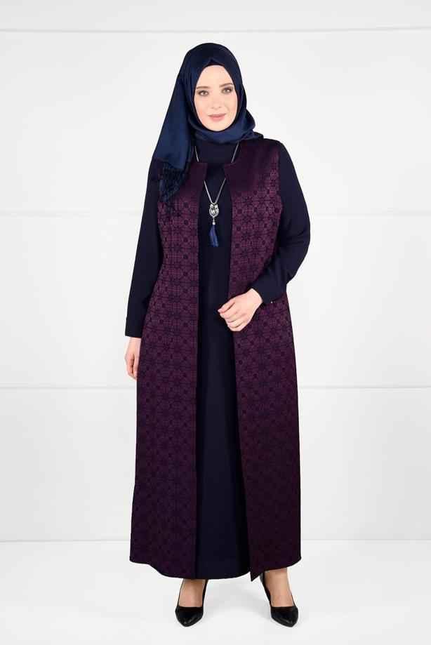 Trend Tesettür Elbiseli Takım Modelleri