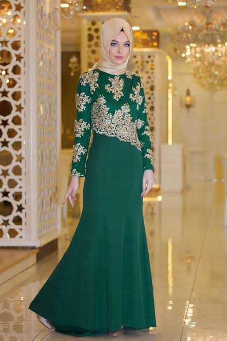 En Güzel Sedanur Collection Tesettür Abiye Elbise Modelleri