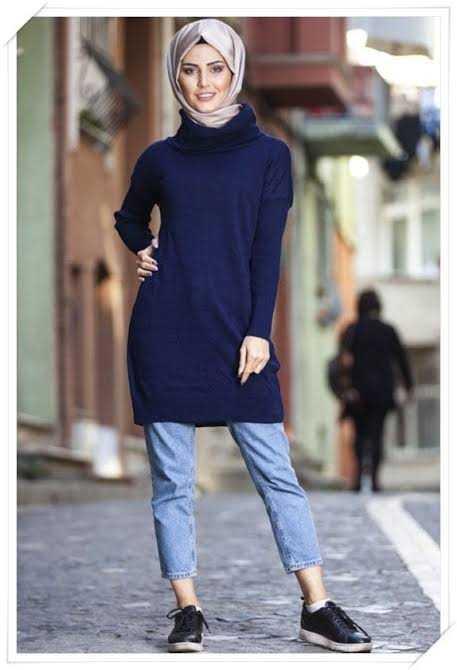Genç Triko Tunik Modelleri