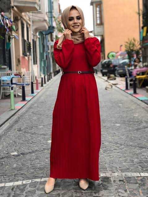 ModaOnur Günlük Tesettür Elbise Modelleri