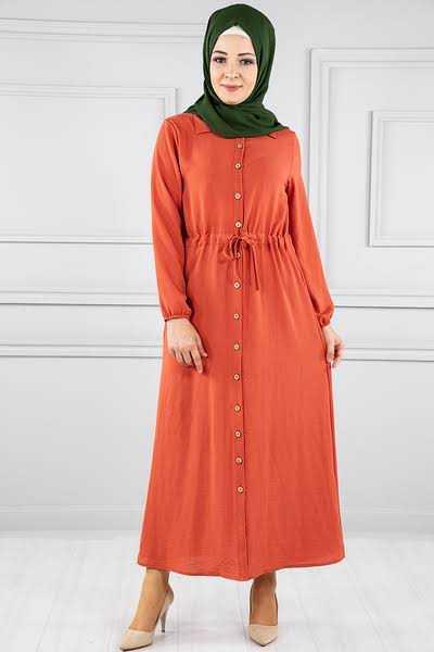 Modanoiva Günlük Tesettür Elbise Modelleri