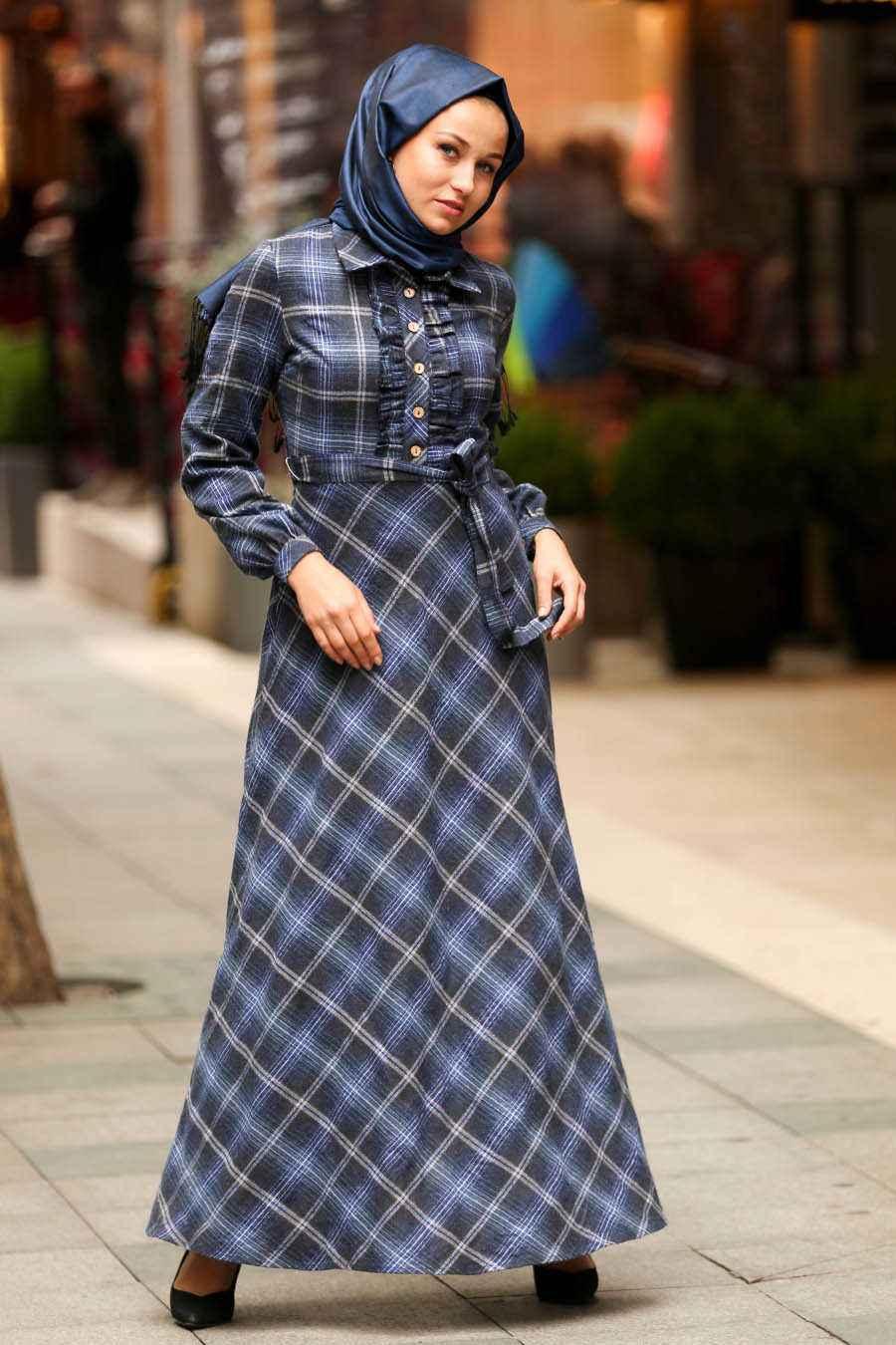 Neva Style En Güzel Tesettür Uzun Gömlek Modelleri