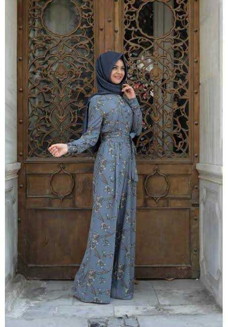 Pınar Şems Tesettür İndigo Tulum Modelleri