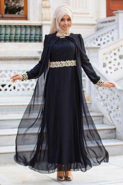 Sedanur Collection Şık Tesettür Abiye Elbise Modelleri