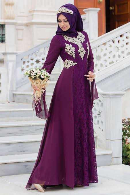 Sedanur Tesettür Modern Abiye Elbise Modelleri