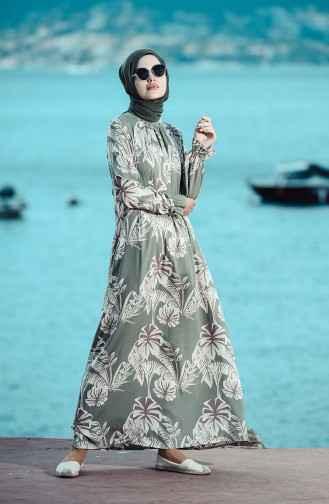 Sefamerve Viskon Tesettür Şık Elbise Modelleri