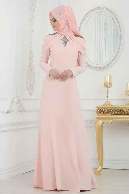 Tesettür İsland Somon Kıyafet Modası