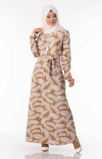 Tesettür Pazarı Günlük Elbise Modelleri