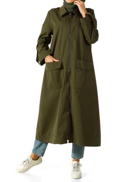 Allday Büyük Beden Dış Giyim Modelleri