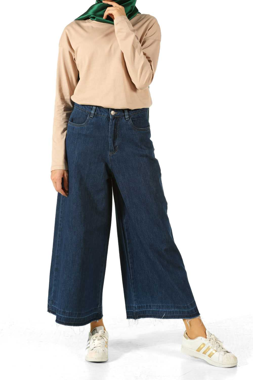 Allday Bol Paça Tesettür Pantolon Modelleri