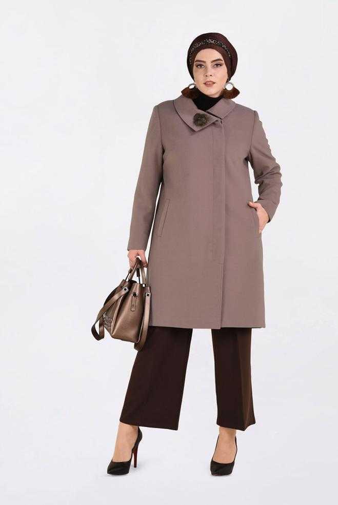 Alvina Büyük Beden Dış Giyim Modelleri