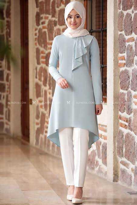 Alyadua Tesettür Tunik Pantolon Takım Modelleri
