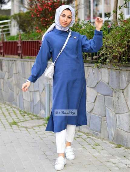 Bi Bashka Mavi Renk Tunik Modelleri