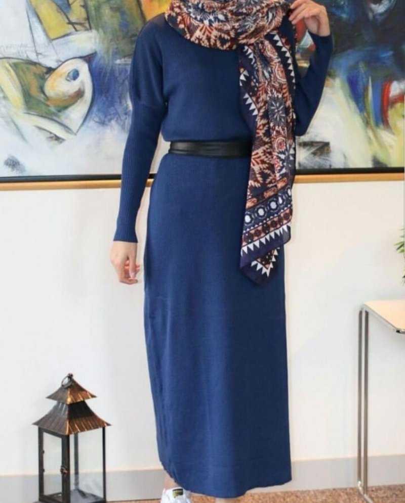 Butikkolikkk Fitilli Şık Tesettür Elbise Modelleri
