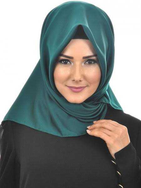 En Güzel Düz Renkli İpek Eşarp Modelleri