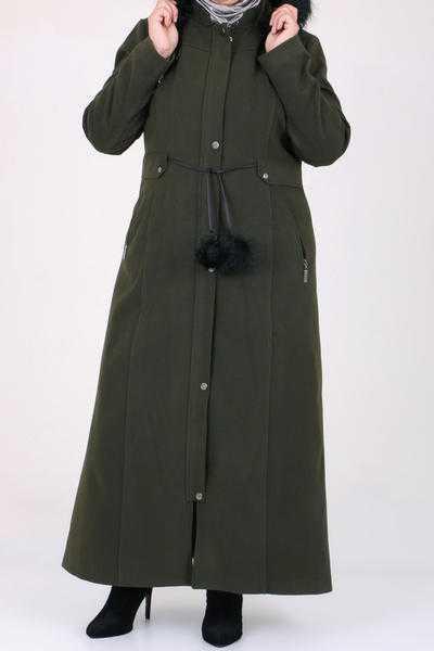 Eslina Moda Büyük Beden Kaban Modelleri