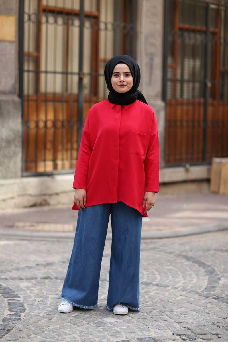 ModaOnur Bol Paça Tesettür Pantolon Modelleri