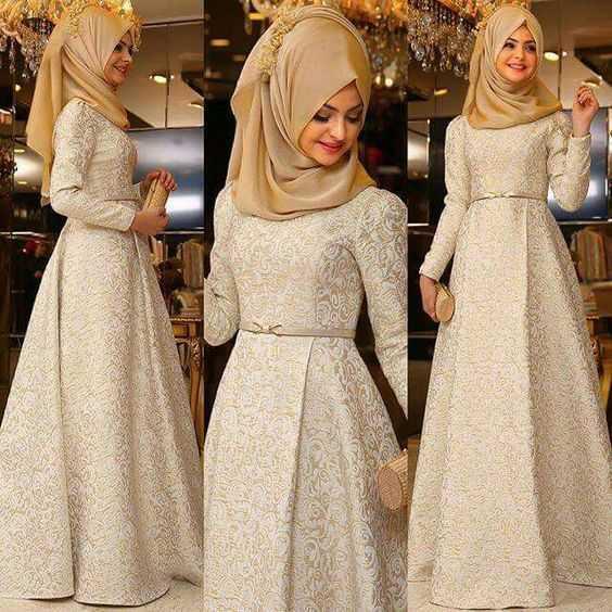 Pınar Şems Desenli Abiye Elbise Modelleri