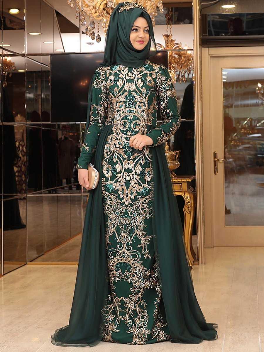 Pınar Şems Zümrüt Abiye Elbise Modelleri