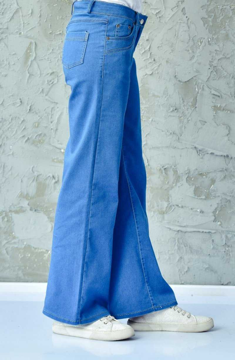 Sefamerve Bol Paça Tesettür Pantolon Modelleri