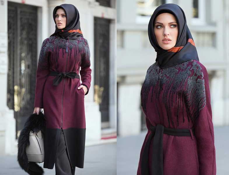Tekbir Giyim Sonbahar Kış Şık Tesettür Modası