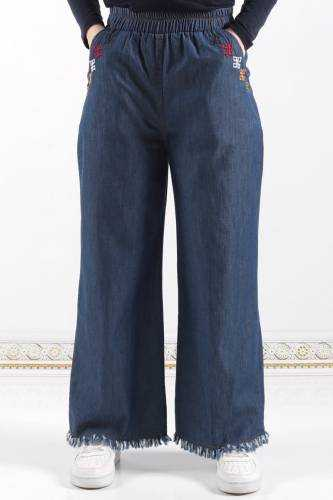 Tesettür Dünyası Bol Paça Pantolon Modelleri