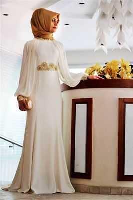 Özel Gün Tesettür Elbise Modelleri