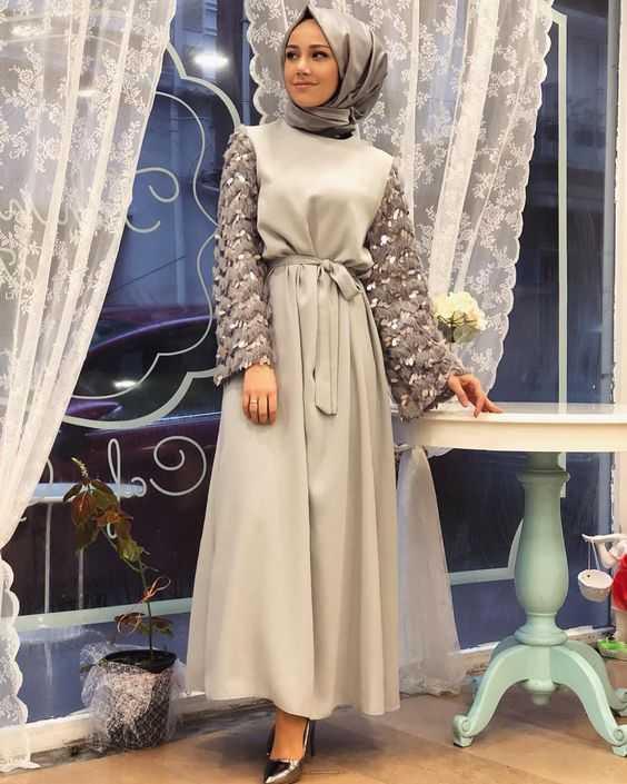 En Özel Özel Gün Tesettür Elbise Modelleri