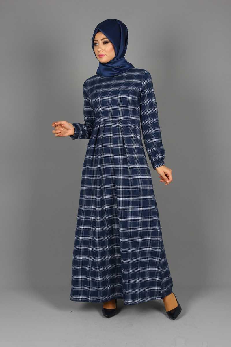 Eymina Tesettür Kaşmir Elbise Modelleri