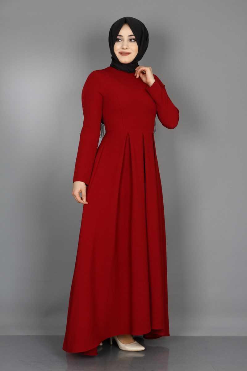 Eymina Tesettür Prenses Elbise Modelleri