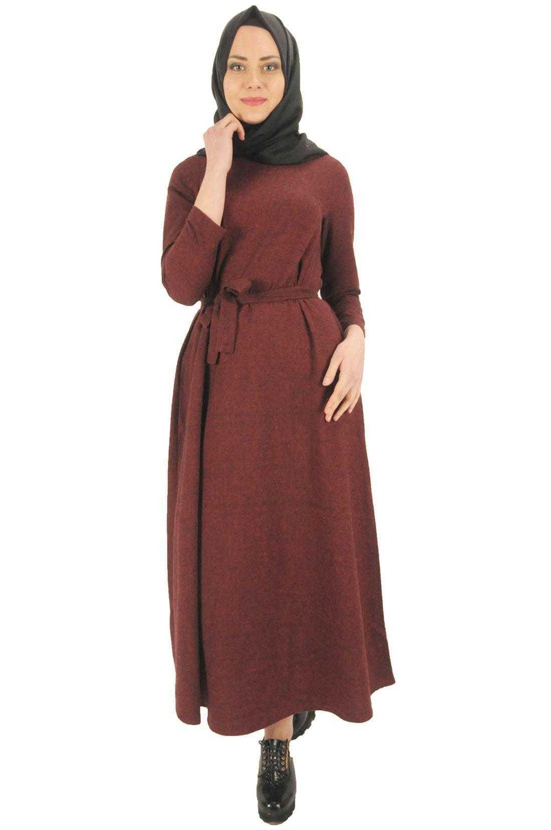Moda Efsane Tesettür Kaşmir Elbise Modelleri