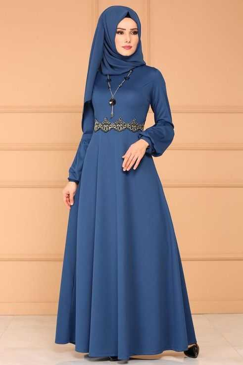 Moda Selvim Tesettür Prenses Elbise Modelleri