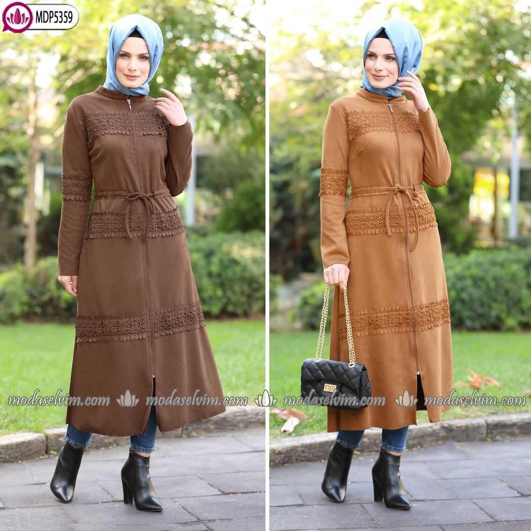 ModaSelvim Sonbahar Kış Tesettür Kıyafet Kombinleri
