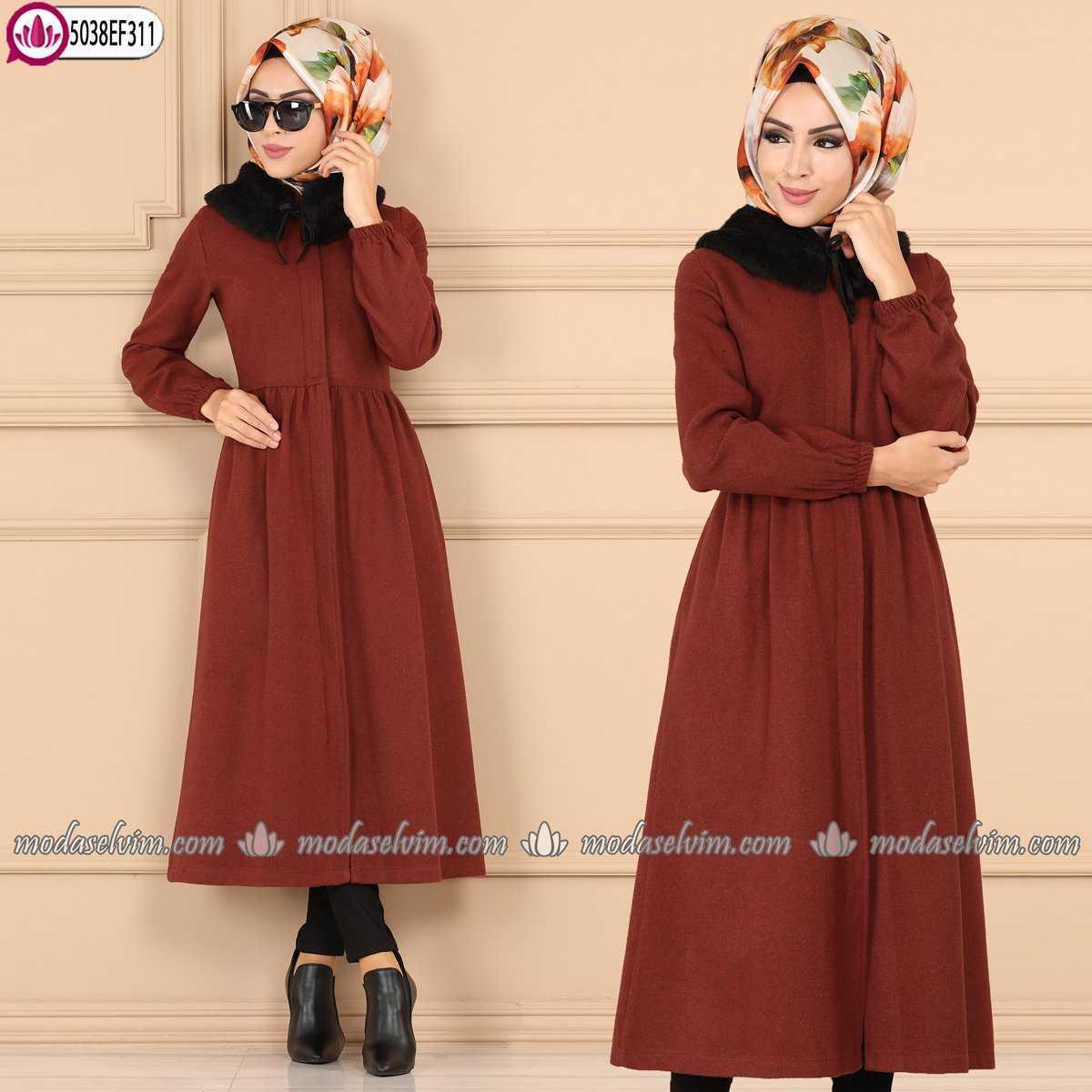 ModaSelvim Sonbahar Kış Tesettür Modern Kıyafet Modelleri