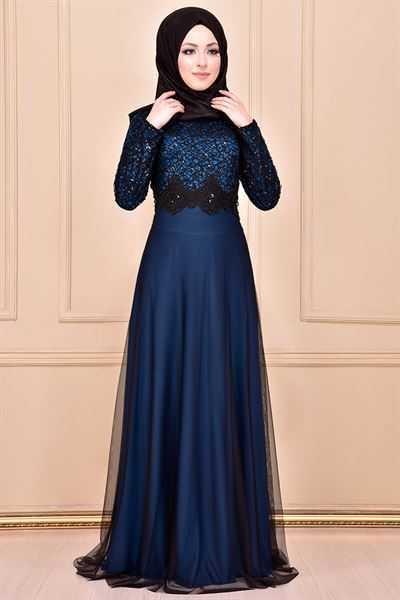 Modamerve Özel Gün Tesettür Elbise Modelleri