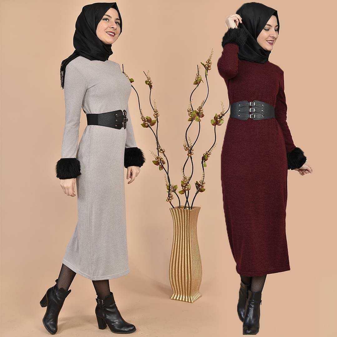 Modamerve Tesettür Midi Kıyafet Modelleri