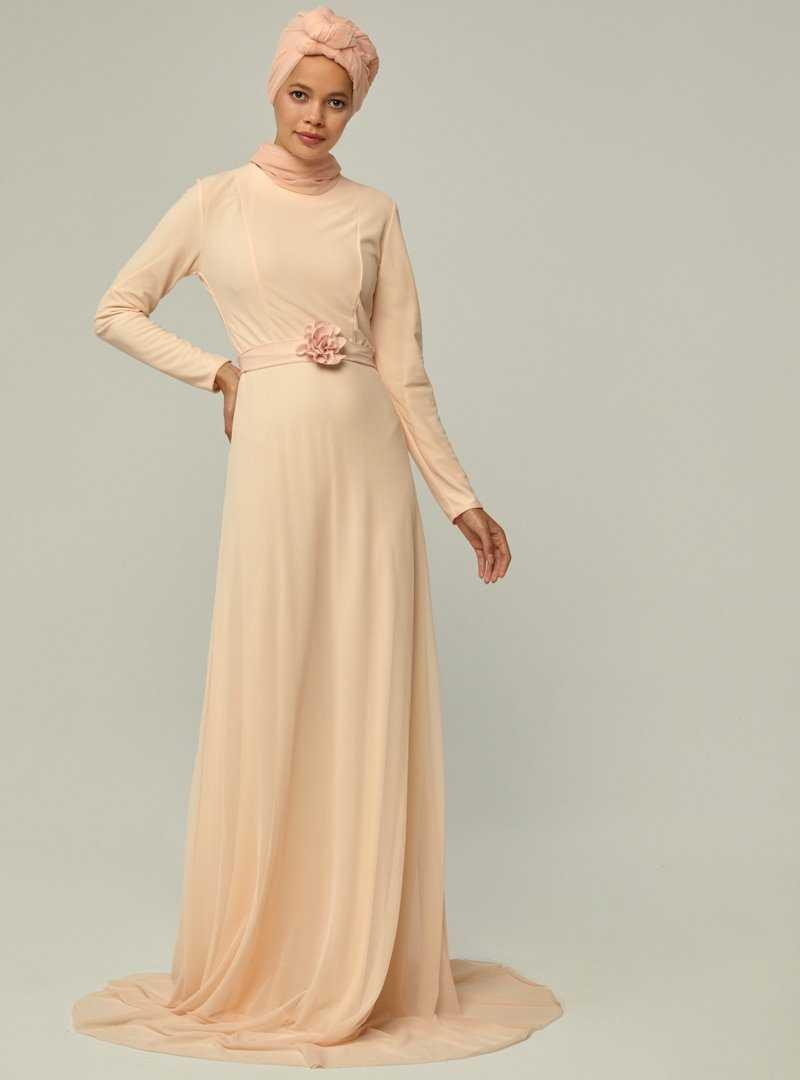 Mwedding Üç Boyutlu Tesettür Abiye Elbise Modelleri